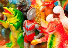 日本製ソフビ人形